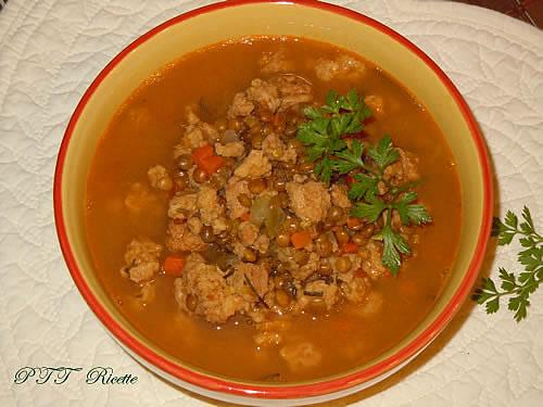 Spezzatino di soia e lenticchie 2