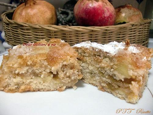 Strudel senza burro, con mele, biscotti e confettura