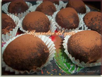 Tartufi al cioccolato 1