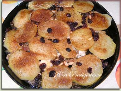 Timballo patate e carciofi
