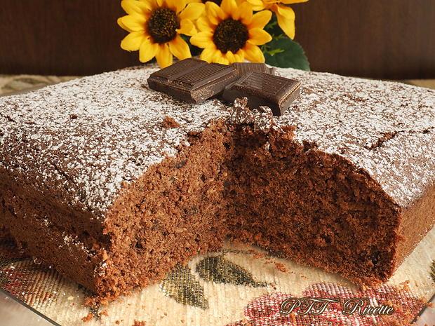 Torta al cacao, cocco e cioccolato senza glutine 1