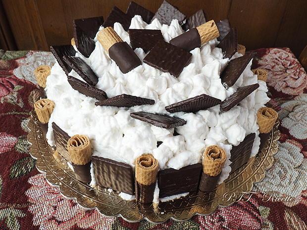 Torta al cacao con Nutella e panna al cocco 12
