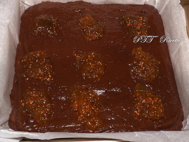 Torta al cacao e confettura di fichi 5