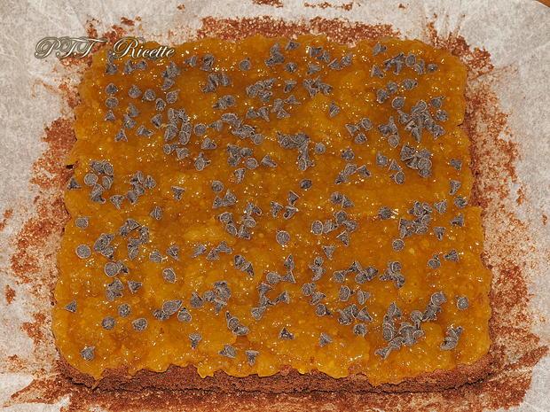 Torta al cacao senza glutine con marmellata 3