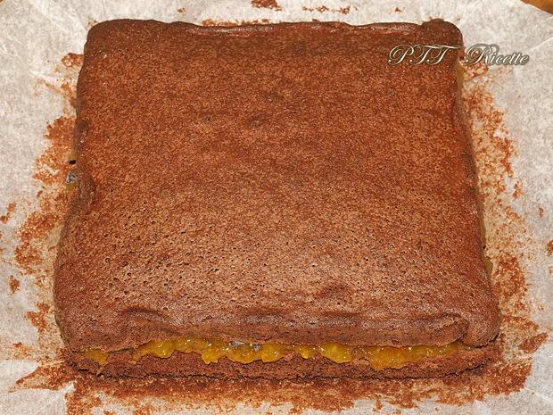 Torta al cacao senza glutine con marmellata 4