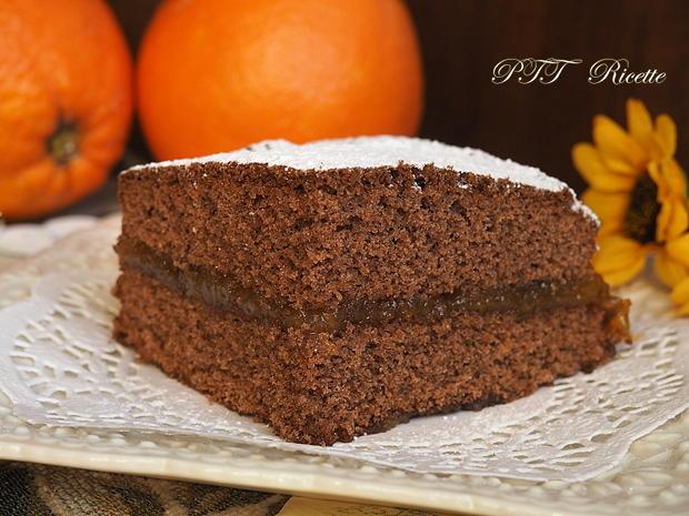 Torta al cacao senza glutine con marmellata 5