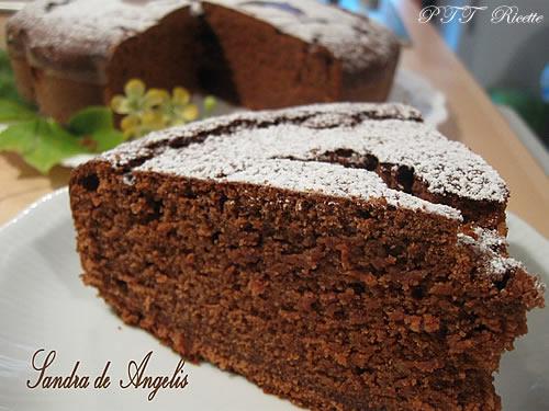Torta al cioccolato con farina di castagne 1