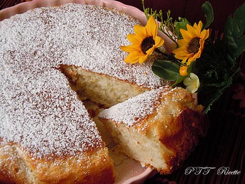 Torta al kefir e cocco 2