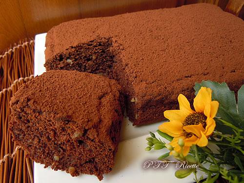 Torta all'acqua al cioccolato 3