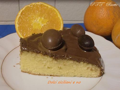 Torta alle arance e Nutella 2