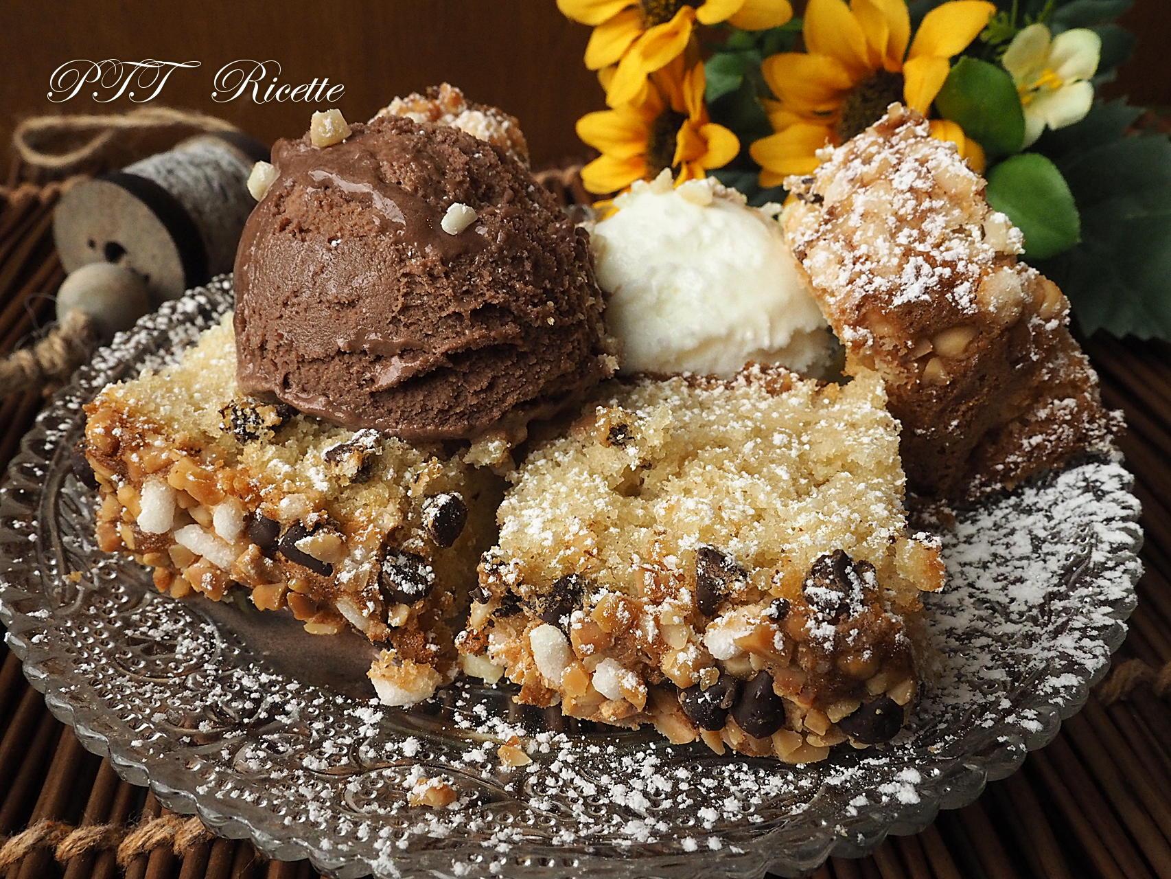 Torta alle mandorle con gelato ptt ricette for Ricette di torte gelato