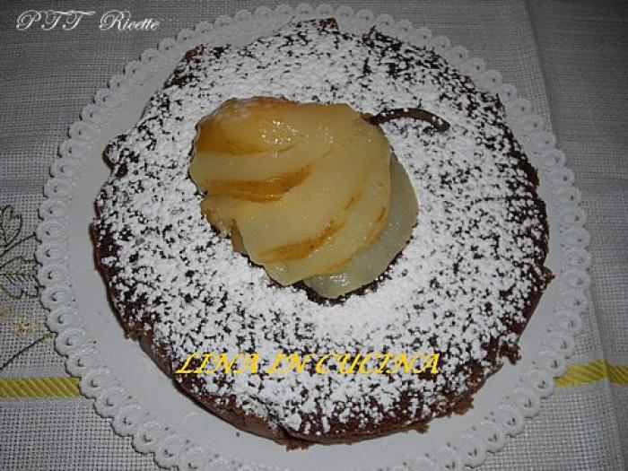Torta cioccolato e pere ricette microonde ptt ricette for Ricette microonde