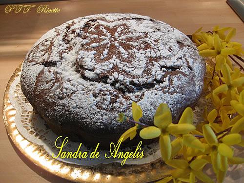 Torta cioccolato, nocciola e vaniglia