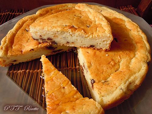 Torta con kefir, ricotta e cioccolato 2
