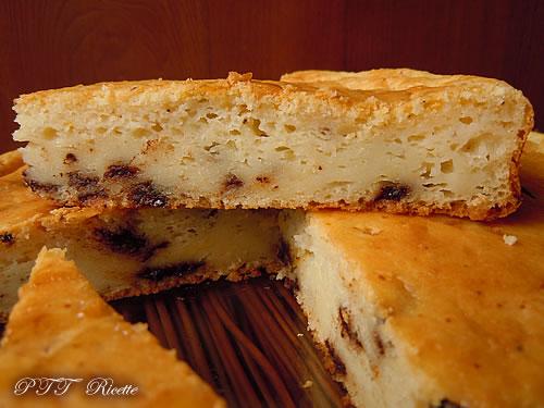 Torta con kefir, ricotta e cioccolato 5