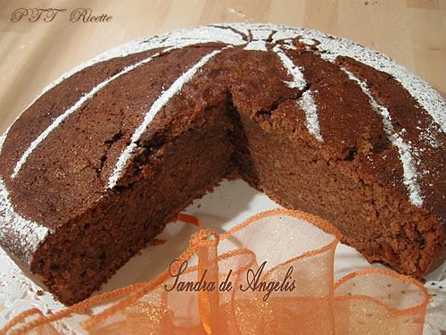 Torta con zucca, mela e cioccolato 1