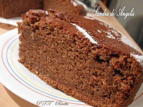 Torta con zucca, mela e cioccolato 2