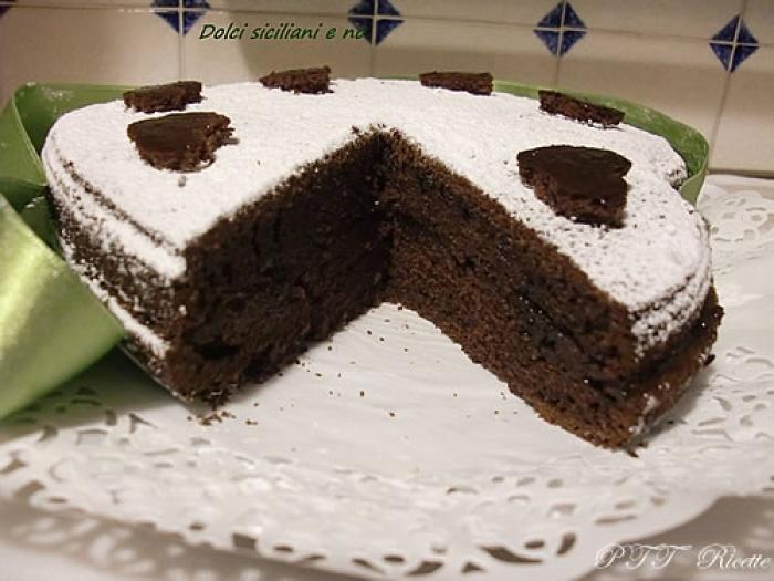 Ricetta Torta Al Cioccolato A Forma Di Cuore.Torta Cuore Al Cacao Ptt Ricette