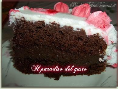 Torta Cuore al cioccolato 1