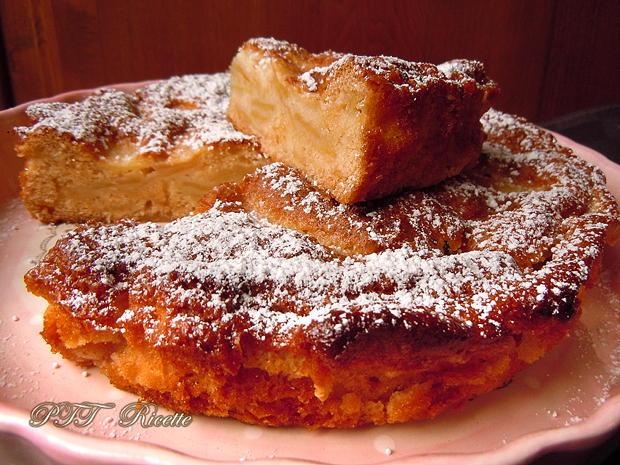 Torta di mele dietetica 2