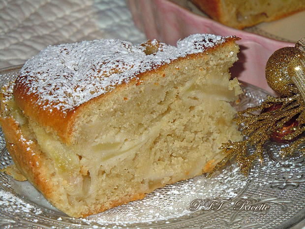 Torta di mele light 16
