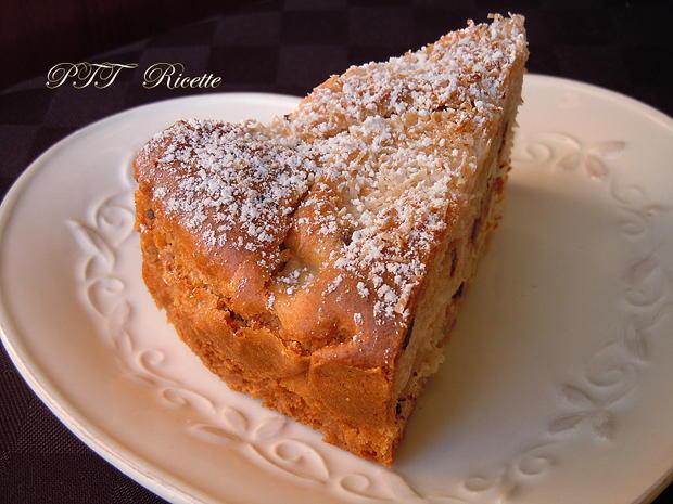 Torta di mele light con cocco e cioccolato 22