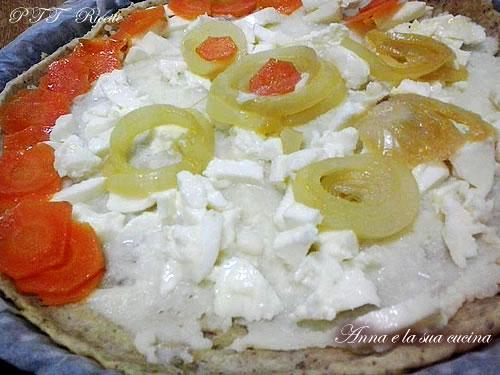 Torta di patate, carote e cipolle 10