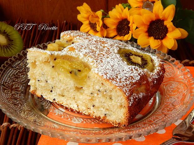 Torta dietetica ai kiwi 8