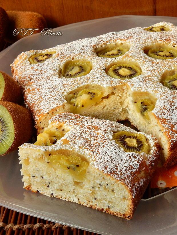 Torta dietetica ai kiwi 9