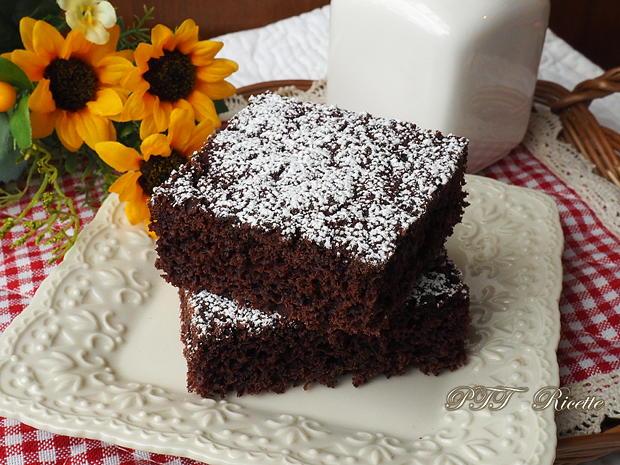 Torta dietetica al cacao senza burro 1