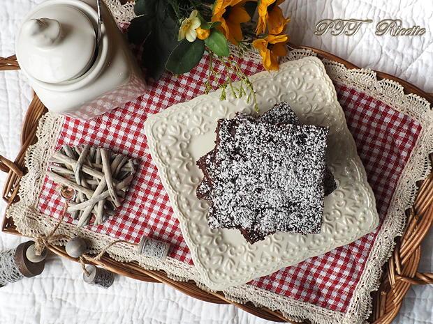 Torta dietetica al cacao senza burro 8
