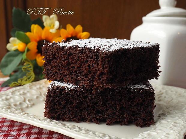 Torta dietetica al cacao senza burro