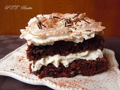 Torta dietetica al cacao, senza uova e senza burro 1