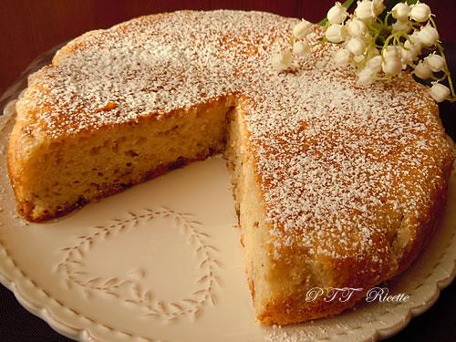 Ricetta torta dietetica al cocco