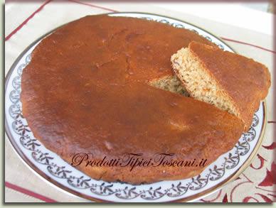 Torta dietetica con albumi 2