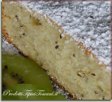 Torta dietetica con kiwi 2