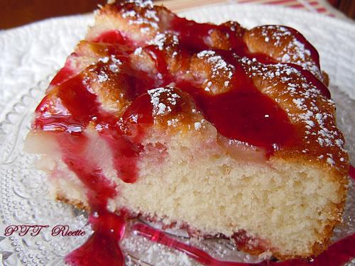 Torta dietetica con pere 4