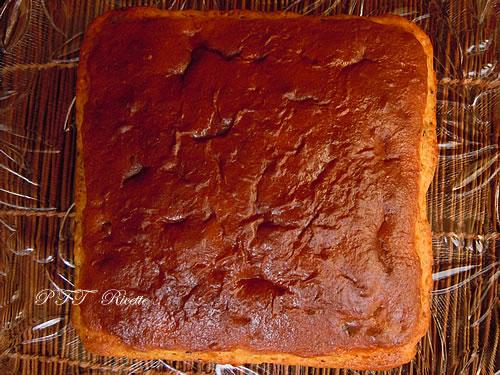 Torta dietetica con Philadelphia e crema al cioccolato 1