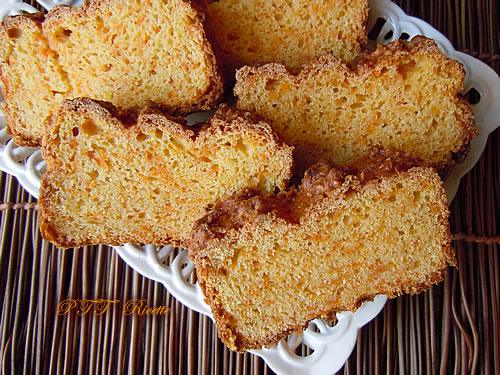 Torta light ricotta e carote 2