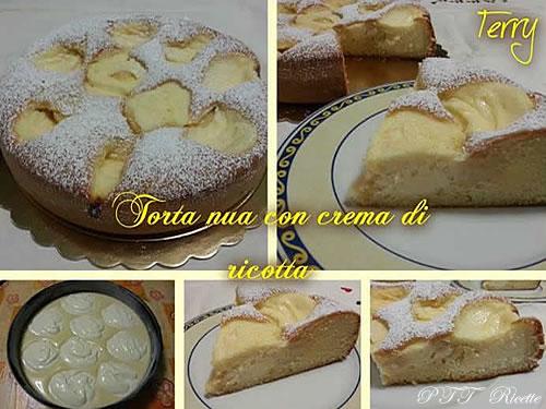 Torta Nua con crema di ricotta 1