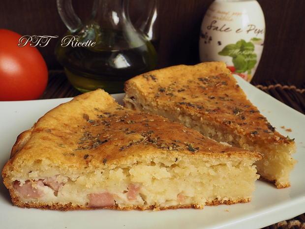 Torta salata con mortadella 12