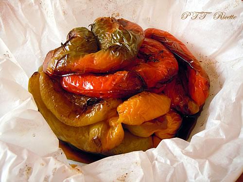 Torta salata con peperoni 2