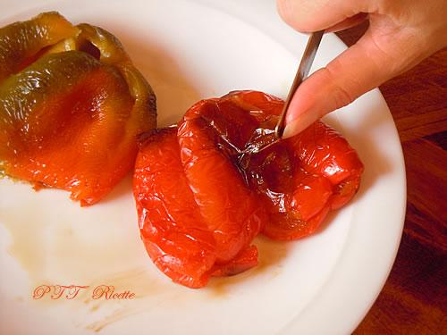 Torta salata con peperoni 3