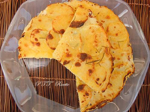 Torta salata di patate senza glutine 1