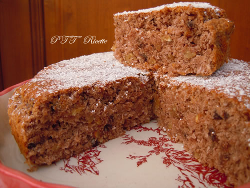 Torta senza farina, al cocco e cioccolato 2
