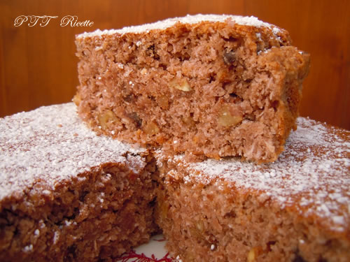 Torta senza farina, al cocco e cioccolato 3