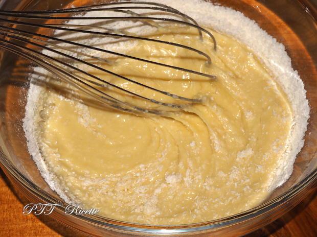 Torta soffice bicolore cacao e cocco 2
