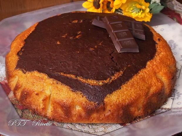 Torta soffice bicolore cacao e cocco 6
