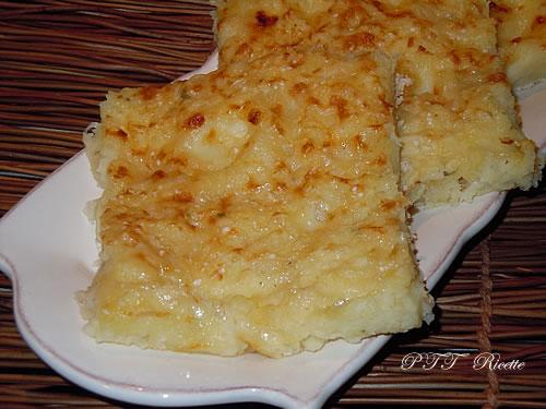 Tortino di patate, ceci e mozzarella al forno 2