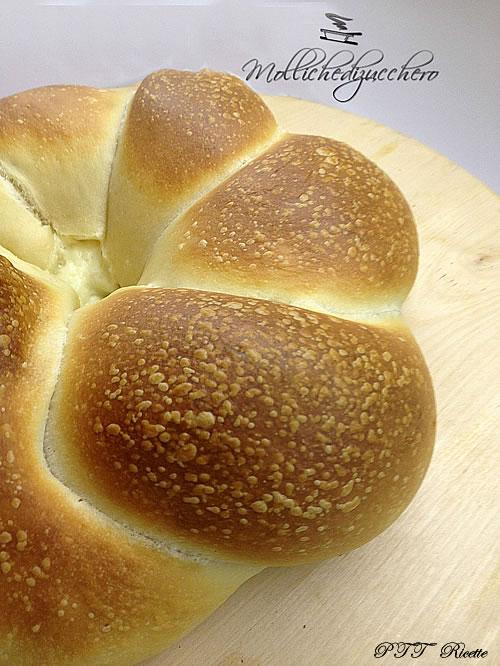 Treccia di pan brioche ai salumi 1